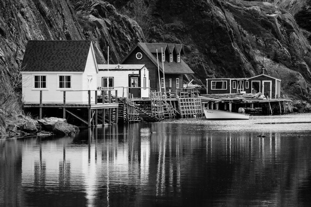 The fishing village of quidi vidi in St. John's newfoundland