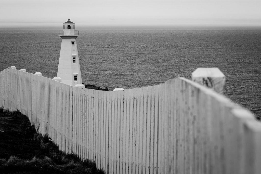 Cape spear lighthouse near St. Johns newfoundland