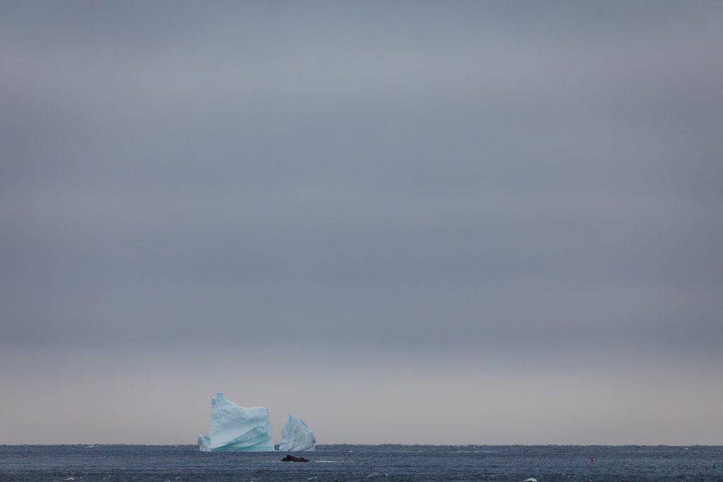Photo of iceberg in iceberg alley Newfoundland, Canada